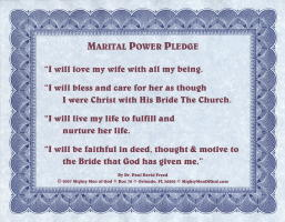 405 Marital Power Pledge