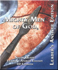 307 Band of Mighty Men Special: 1 Leader's, 10 Men's, FREE BOOK